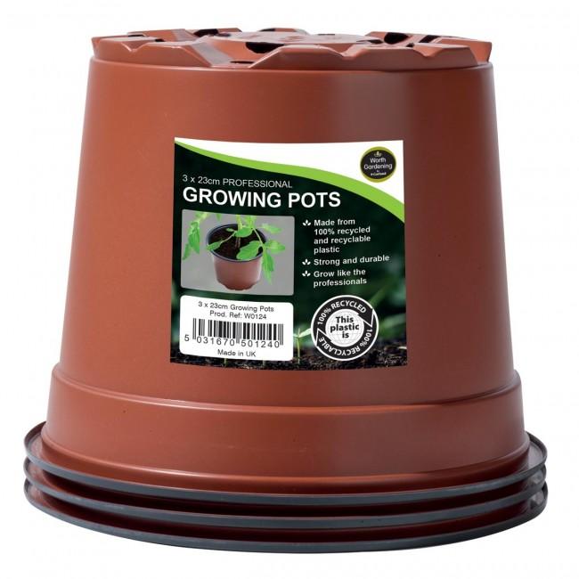 Garland 23cm Professional Growing Pots (3)