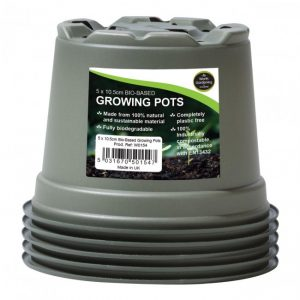 Garland 10.5cm Bio-Based Growing Pots (5)