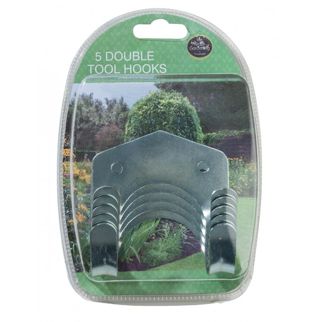 Garland Double Tool Hooks (5)