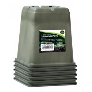 Garland 9cm Bio-Based Growing Pots Square (5)