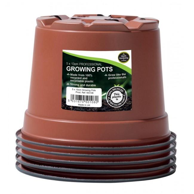 Garland 13cm Professional Growing Pots (5)