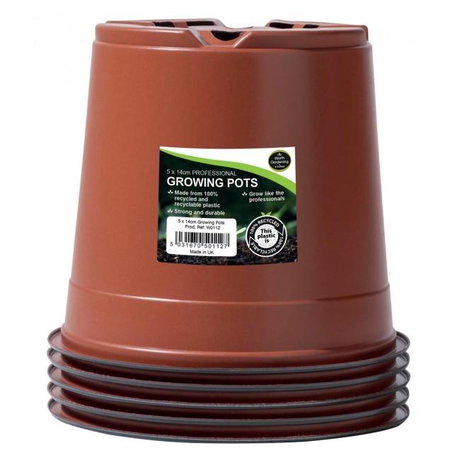 Garland 14cm Professional Growing Pots (5)