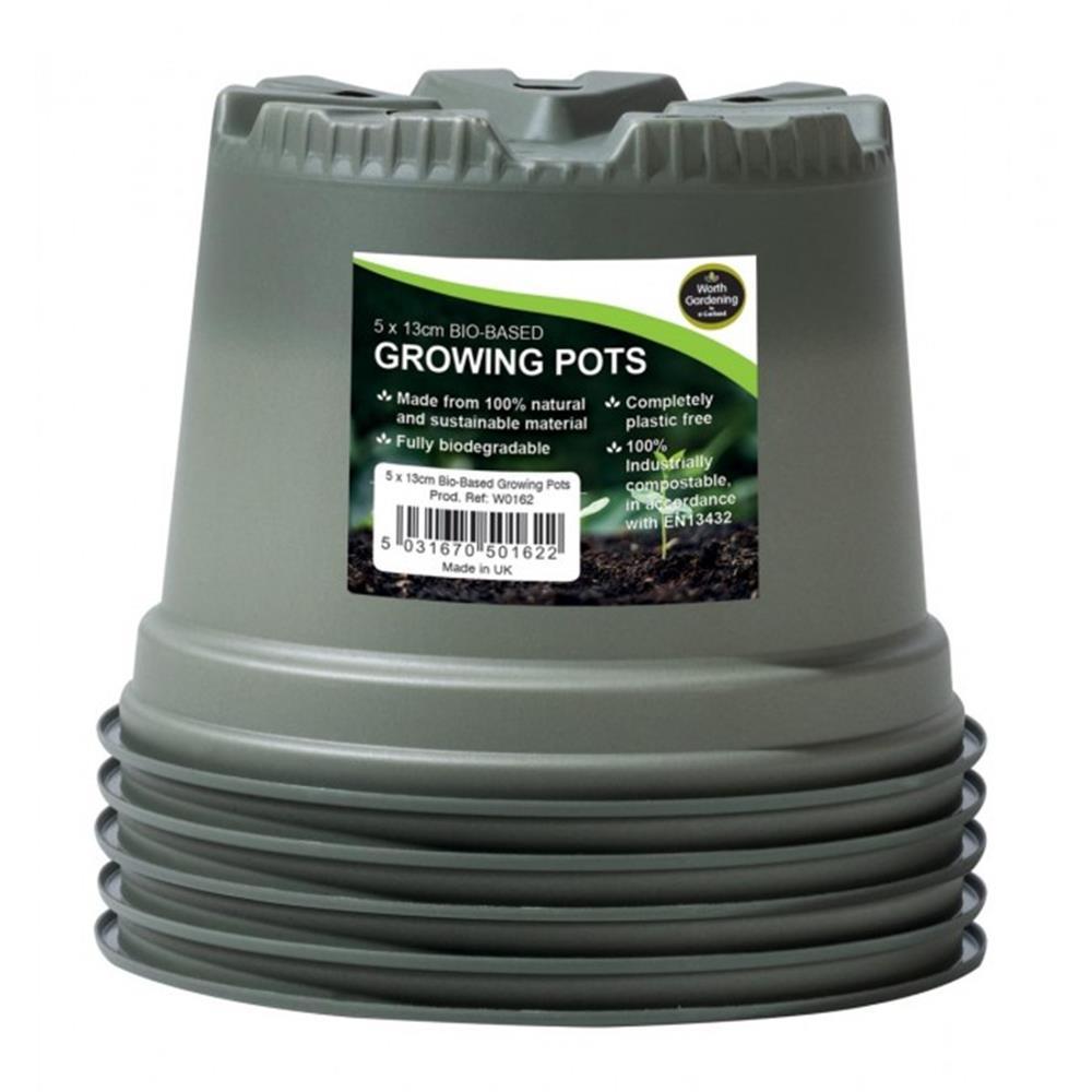 Garland 13cm Bio-Based Growing Pots (5)