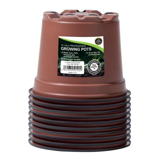 Garland 9cm Professional Growing Pots (10)