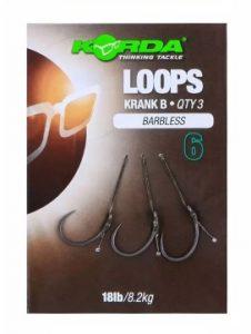 Korda Loops Krank B Size 6 Barbless