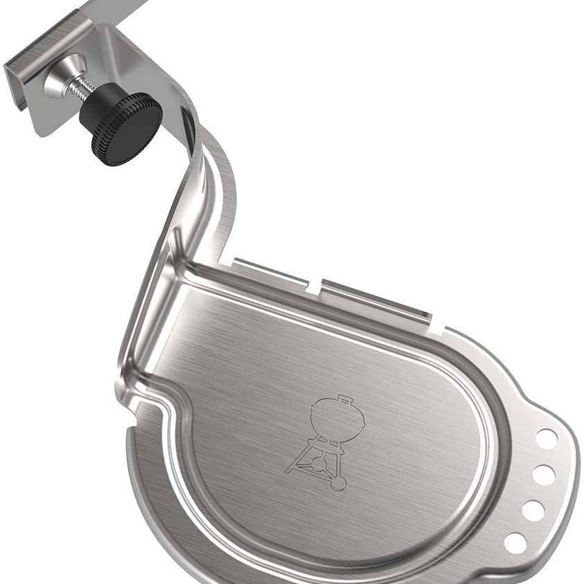 Weber Charcoal Kettle iGrill Mounting Bracket, Silver