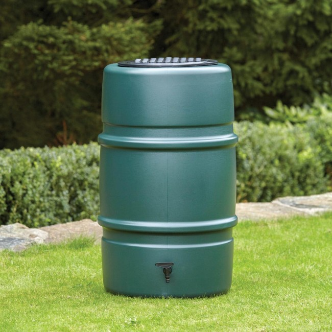 Garland 227ltr Harcostar Water Butt (Includes Tap & Child Safety Lid)