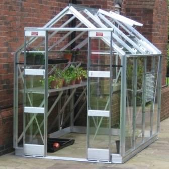 Elite 5'3' Wide Streamline Greenhouse