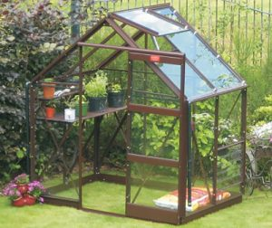 Elite 6'3' Wide Craftsman Greenhouse