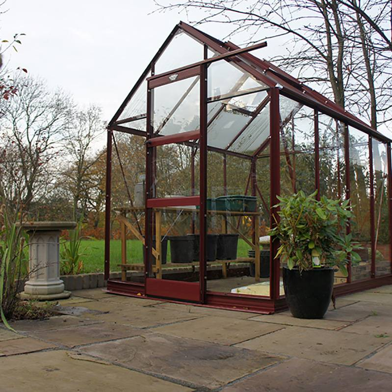 Elite 6'3' Wide High Eave Greenhouse
