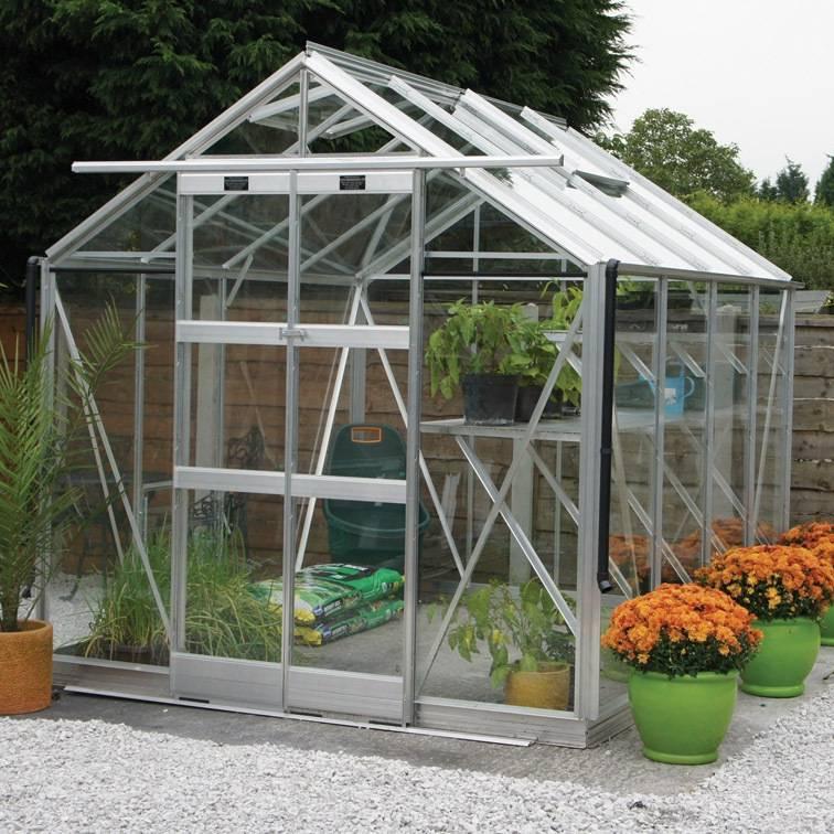 Elite 7'5' Wide Vantage Greenhouse