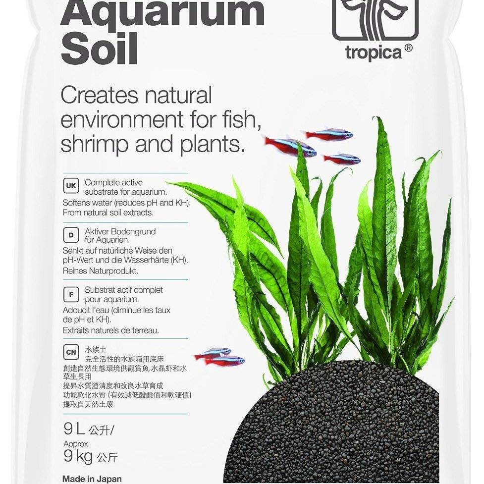 Tropica Aquarium Soil 9L