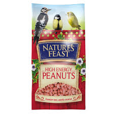 Natures Feast High Energy Peanuts 1.75kg