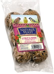 Natures Feast 6 Fruit & Berry Suet Balls