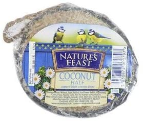 Natures Feast  Coconut Half 6pk