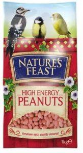 Natures Feast Peanuts 1kg
