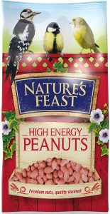 Natures Feast High Energy Peanuts 5kg