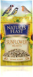 Natures Feast Premium Sunflower Hearts 1kg