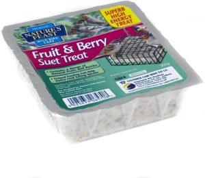 Natures Feast Fruit & Berry Suet Cake 300g