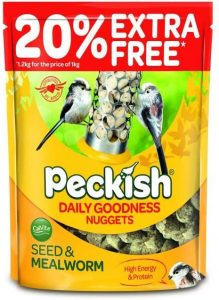 Peckish Daily Goodness Nuggets 1kg + 20% Extra Free