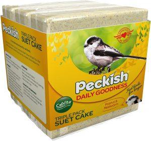 Peckish Daily Goodness Triple Suet Cake 3x300g