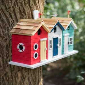 Heritage Beach Hut Bird House