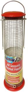 Nature's Feast All Seasons Large Mesh Wild Bird Peanut Feeder