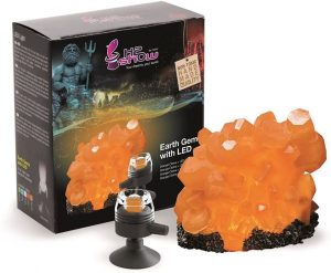 Hydor Earth Gems Orange Citrine Ornament+ Orange Led