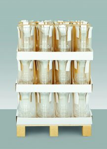 Premier Clear Glass Candle Holder