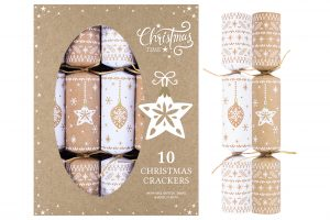 "10 X 12"" Eco Bauble & Star Crackers"