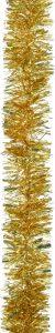 Festive 2m x 100mm Chunky Cut Tinsel - Gold