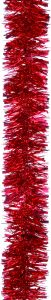 Festive 2m x 100mm Chunky Cut Tinsel - Red