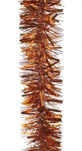 Festive 200cm X 10cm Chunky / Fine Tinsel - Copper