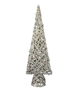 Heaven Sends Medium Cream Basket Cone Tree
