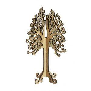 Heaven Sends Wooden 3D Tree