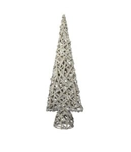 Heaven Sends Small Cream Basket Cone Tree