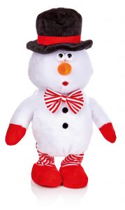 Premier 28cm Whistling Snowman With Whistle Function