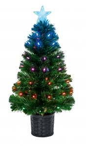 Premier 80cm Tree with Colour Changing LEDs