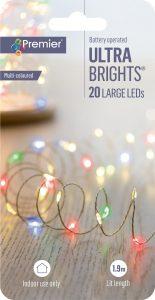 Premier 20L BO Indoor Ultrabrights Multi LED