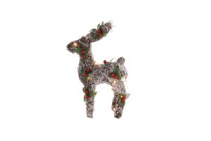 Mercer 32cm Reindeer With B/O LEDs