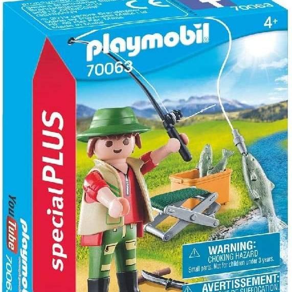 Playmobil 70063 Special Plus Fisherman