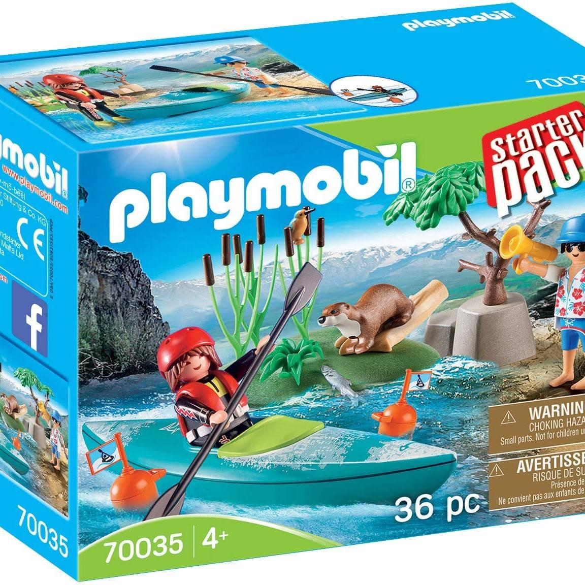 Playmobil 70035 Starter Pack Kayak Adventure