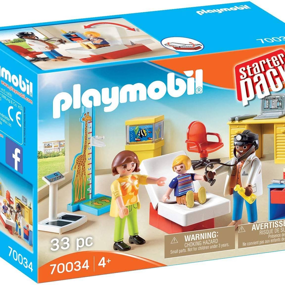 Playmobil 70034 Starter Pack Paediatrician's Office