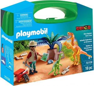 Playmobil 70108 Large Dino Explorer Carry Case