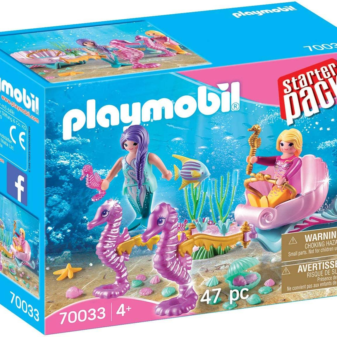 Playmobil 70033 Starter Pack Seahorse Carriage