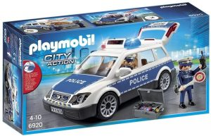 Playmobil 6920 City Action Police Squad Car with Lights and Sound