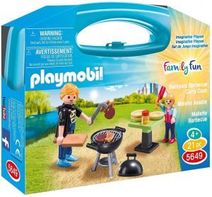 Playmobil 5649 City Life Collectable Small Summer Barbecue Carry Case