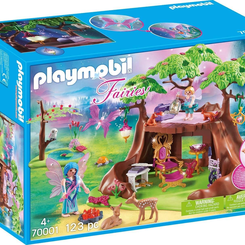 Playmobil 70001 Fairies Fairy Forest House