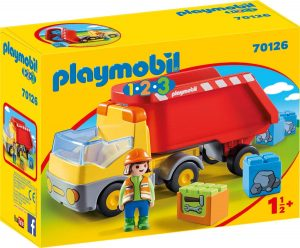 Playmobil 70126 1.2.3 Dump Truck