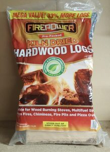 Pre-Packed Bag of Kiln Dried Hardwood Logs